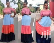 Off Shoulder Layered Maxi With A Belt | Clothing for sale in Nairobi, Nairobi Central