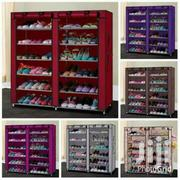 Two Columns Portable Wooden Frame Shoe Rack | Home Accessories for sale in Nairobi, Nairobi Central