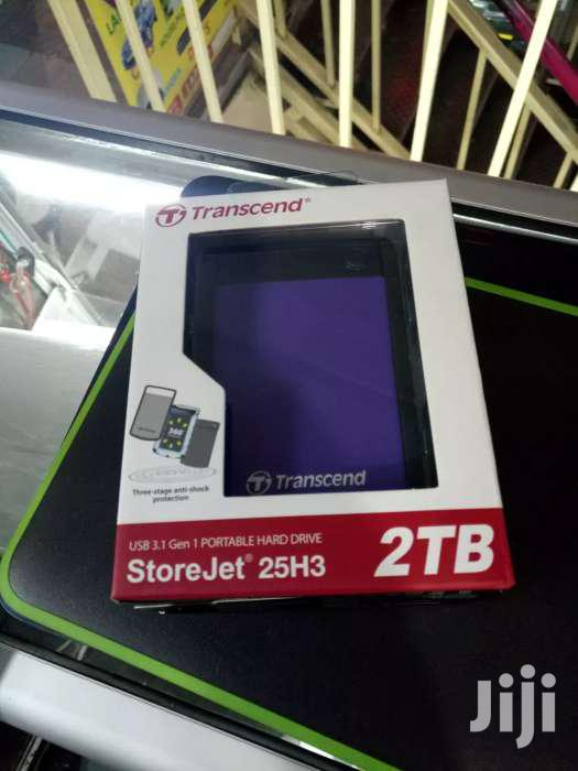 2TB Transcend External Hard Drives Quick Sale- Limited Stock