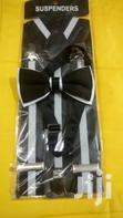 Suspender And A Bow Tie | Clothing Accessories for sale in Nairobi Central, Nairobi, Nigeria