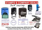 Stamps (Self Inking) Company Seals | Tax & Financial Services for sale in Nairobi, Nairobi Central