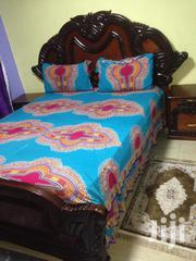 Hard Wood 5 By 6 Bed Plus A Spring Mattress | Furniture for sale in Nairobi, Lower Savannah