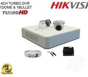 Hikvision Full HD 2 CCTV Cameras (2MP) With Full HD 4ch. DVR Kit | Security & Surveillance for sale in Nairobi, Nairobi Central