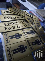 We Are An Approved Makers Of Quality Door Signs   Manufacturing Services for sale in Nairobi, Nairobi Central