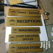 Door Signs Are Our Specialty! With Every Type Of Door Signs. | Other Services for sale in Nairobi, Nairobi Central