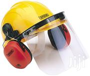 Safety Helmet With Face Shield & Ear Muffs | Safety Equipment for sale in Nairobi, Imara Daima
