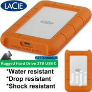 LACIE Rugged External Usb C & Thunderbolt Harddrives 2TB/ 4TB/5TB   Computer Accessories  for sale in Nairobi, Westlands