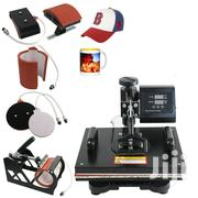 5 In 1 Heat Press Machine For T-shirts Combo | Printing Equipment for sale in Nairobi, Nairobi Central