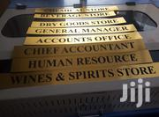 Door Signs And Labels Printing And Engraving   Manufacturing Services for sale in Nairobi, Nairobi Central