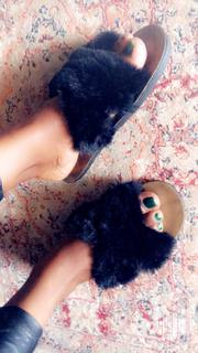 Fluffy Flat Sandals | Shoes for sale in Nairobi, Harambee