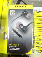 Awei Earphone  Es_70ty Stereo And  Extra Bass | Accessories for Mobile Phones & Tablets for sale in Nairobi, Nairobi Central