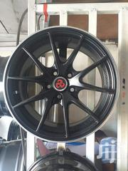 Black Allion Sports Rims Sizes 15set Brand New | Vehicle Parts & Accessories for sale in Nairobi, Nairobi Central