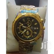 Casio Gold, Black and White Dial Chronograph Stainless Steel Watch | Watches for sale in Nairobi, Nairobi Central