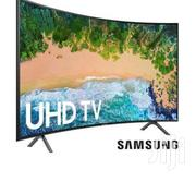 "BIG OFFER; 73"" Curved Smart Samsung TV 2020(New Arrivals 
