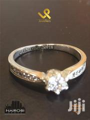 Ladies Custom Made Sterling Silver Engagement Ring | Jewelry for sale in Nairobi, Nairobi Central