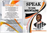 Books - Speak To Your Mountains | Books & Games for sale in Nairobi, Kahawa