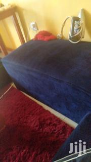 3 Seater and a Puff One Month Old. | Furniture for sale in Uasin Gishu, Kapsoya