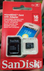 16GB Original Sandisk Memory Card | Accessories for Mobile Phones & Tablets for sale in Nairobi, Nairobi Central