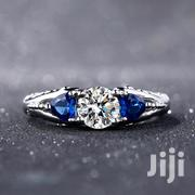 Fashion Blue Stone Silver Engagement Ring | Jewelry for sale in Nairobi, Karen