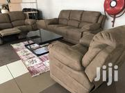 Excellent Brown 7 Seater Recliner Sofa Set | Furniture for sale in Nairobi, Kilimani