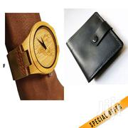 Wooden Watch Watch Plus A Wallet | Watches for sale in Nairobi, Nairobi Central