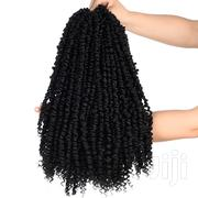 Passion Spring Twists Synthetic Crotchet Hair Extensions Braids Black | Hair Beauty for sale in Nairobi, Embakasi
