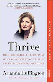 Thrive -arianna Huffington | Books & Games for sale in Nairobi, Nairobi Central