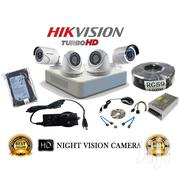 Four 4 Hikvision 720p 1mp Complete Cctv Cameras System Package | Security & Surveillance for sale in Nairobi, Nairobi Central