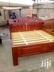 Durable Simple Modern Quality 5by6 Mahogany Bed   Furniture for sale in Nairobi, Ngara