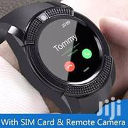 With Sim Card And Remote Camera V8 Smart Watch   Smart Watches & Trackers for sale in Nairobi, Kileleshwa