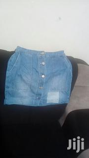Button Down Sexy Denim Skirt | Clothing for sale in Nairobi, Nairobi Central
