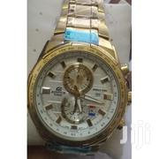 Gold Stainless Steel Straps Watch EFR 550GD 7AV | Watches for sale in Nairobi, Nairobi Central