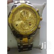 Silver Gold Stainless Steel Straps Watch EFR 550 SG5AV | Watches for sale in Nairobi, Nairobi Central