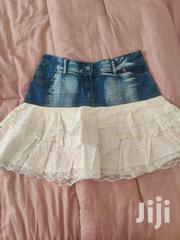 Short Denim Skirt With Ruffles | Clothing for sale in Nairobi, Westlands