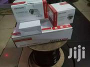 Two Hikvision CCTV Cameras Complete System Kit With Installation | Cameras, Video Cameras & Accessories for sale in Nyeri, Karatina Town