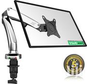 """Full Motion Desk Mount For Computer Monitors 17"""" - 27"""" 