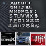 Custom 3d Car Stickers Chrome Emblems | Vehicle Parts & Accessories for sale in Mombasa, Tudor
