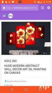HUGE MODERN ABSTRACT WALL DECOR ART OIL PAINTING ON CANVAS | Home Accessories for sale in Nairobi, Nairobi Central