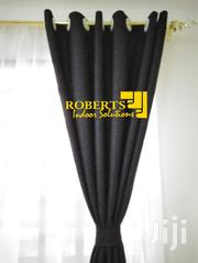 Black Heavy Linen Fabric Curtiains Sold Per Meter | Home Accessories for sale in Nairobi, Nairobi Central