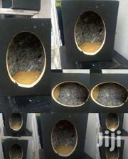 KNOCK-DOWN FLAT-PACK OVAL MID RANGE SPEAKER CABINETS CABINET   Vehicle Parts & Accessories for sale in Nairobi, Nairobi Central