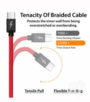 Type C Heavy Duty Braided Fast Charge Cables | Accessories for Mobile Phones & Tablets for sale in Mombasa, Mji Wa Kale/Makadara