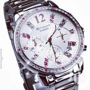 VALENTINES OFFER!! Casio Sheen Silver Watch+Lacoste Perfume | Watches for sale in Nairobi, Nairobi Central