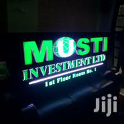 3D With Lights Signage | Manufacturing Services for sale in Nairobi, Nairobi Central