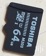 64gb Toshiba Class 10 Memory Card | Accessories for Mobile Phones & Tablets for sale in Kajiado, Ongata Rongai