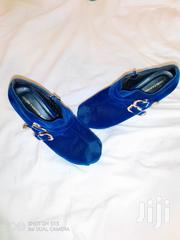 Blue Classic Heels | Shoes for sale in Nairobi, Kahawa West