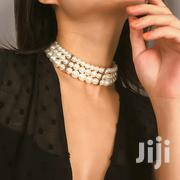 Multilayed Imitation White Choker Necklace | Jewelry for sale in Nairobi, Nairobi Central