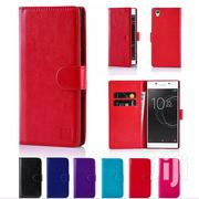 Sony Xperia C4 Leather Flip Cover Wallet | Accessories for Mobile Phones & Tablets for sale in Mombasa, Mji Wa Kale/Makadara