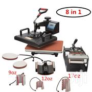 New Combo Heat Press 8 In 1 Machine For Branding T-shirts | Printing Equipment for sale in Nairobi, Nairobi Central