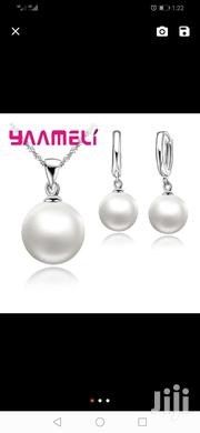 Pure Silver Necklace With Pendantearings | Jewelry for sale in Nairobi, Nairobi Central