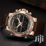 NAVIFORCE 9164 Men's Quartz Leather Band Waterproof Watch | Watches for sale in Nairobi, Nairobi Central